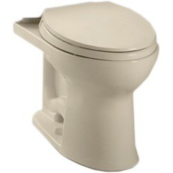 Toto C454cufg 03 Drake Ii 1G Toilet Bowl With Sanagloss  Bone  2 Piece