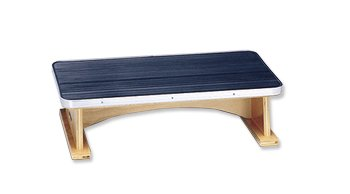 Bailey Physical Therapy Wooden Step Stool