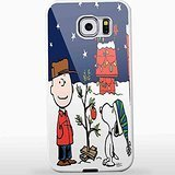 Charlie Brown and Snoopy Christmas for Iphone and Samsung Galaxy Case (Samsung Galaxy S7 Edge white) CCCM1142