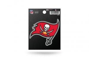 Rico Industries NFL Tampa Bay Buccaneers Die Cut Team Logo Short Sport Sticker