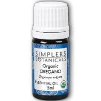 Essential Oil Oregano Organic Simplers Botanicals 5 ml Liquid