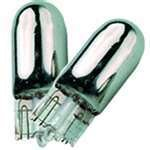 BargainBitz 501 Silver Amber Car Bulb Bulbs For Number Plates Qty2