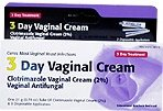 Clotrimazole 3 -Day Vaginal Cream - 0.74 Oz