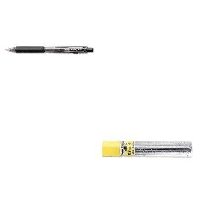 Kitpen509hbpenbk440 a – Value Kit – Pentel Super Hi-Polymer Blei Minen (pen509hb) und Pentel WOW Kugelschreiber Einziehbarer Stift (penbk440 a)