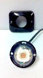 10 Watt LED Button Strobe-- Red