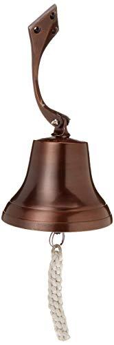 Aluminum Bell - IOTC Aluminum Ship Bell, Dark Antique
