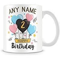 - Coffee Mug, 11th Birthday Gift For Boys Personalised Ceramic Coffee Cup, 11 Oz, White