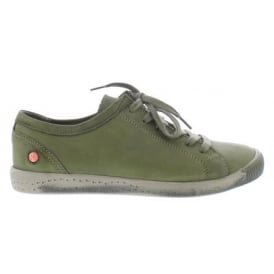 Softinos Damen Isla Sneaker Forest Green