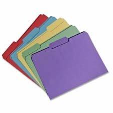 File Folders,1/3 Top Tab,11 Pt.,3/4\