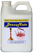 BrassMate and Copper Liquid Polish Cleaner Tarnish Remover 2 Gallons by SilverMate