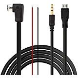 Eximtrade 3.5mm Aux and Micro USB Connector Charging Cable Audio MP3 Music for Pioneer IP-BUS