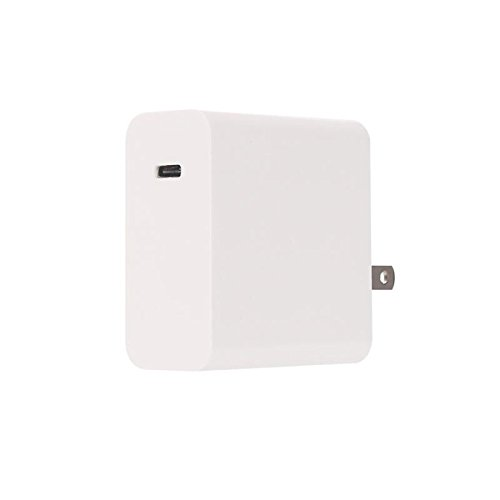 Type C Pd 60W Wall Charger One Port With Foldable Plug Travel Portable Usb Charger For Samsung Galaxy Note 8 S8 Plus Pixel Xl  Nexus 6P Nintendo Switch  Ipad  Camera  Computer And More 60W