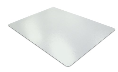 Desktex, PVC Anti-Static Laptop Mat, Rectangular, Clear, 12