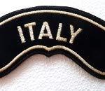 Generico Toppa Patch Grande Rocker Italy Oro Harley Davidson