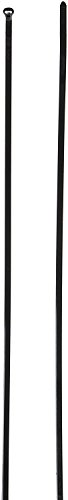 Ty-Rap TY26MX Cable Tie, 40 lb. 11'' Ultraviolet Resistant Black Nylon with Stainless Steel Locking Device Bulk (Pack of 1000) by Tyrap