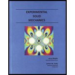Experimental Solid Mechanics, Shukla, Arun and Dally, James W., 0979258189