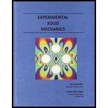 Experimental Solid Mechanics