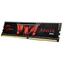 Pin Desktop Memory (G.SKILL 16GB (2 x 8GB) Aegis DDR4 PC4-21300 2666MHz 288-Pin Desktop Memory Model F4-2666C19D-16GIS)