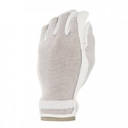 Evertan Women s Tan Through Golf Glove White Pearl – Medium Left Hand