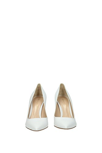 UK G2458085RICNAP Gianvito White Women Leather Rossi Pumps wSwAqOg