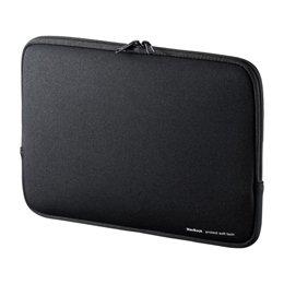 【まとめ 5セット】 サンワサプライ MacBookプロテクトスーツ IN-MACA1301BK B07KNTCLNN