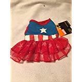 Marvel Captain America Dress XS]()