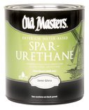 Water Based Spar Urethane Semi Gloss Size: 1 Gallon
