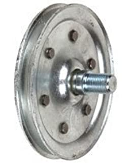 garage door pulley wheelNational Hardware V7633 4 Pulleys wFork Axle Bolt and Nut in