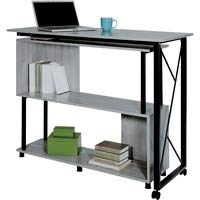 Safco Mood Rotating Worksurface Standing Desk - Box 1 of 2 - Rectangle Top - 53.25