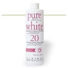 Clairol Pure White Creme Developer 20 volume, (Clairol Hair Toner)