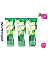 - Bath and Body Works Cucumber Melon Triple Moisture Body Cream 3 Pack