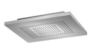 Dornbracht 4140097985 Ceiling Mount Square Rain Panel Shower Head -  Stainless