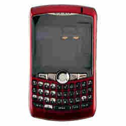 Housing (Complete) for BlackBerry 8300, 8310, 8320 Curve (Red)