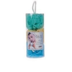 DDI - 3 Pack Ruffle Body Sponge In Canister (Cases of 72 items) by DDI
