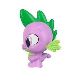My Little Pony Spike the dragon series 4 fash'ems single with carrying case