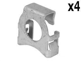 BMW e31 e32 e34 e36 Clip fastener for Hood Shocks (x4) clips ()