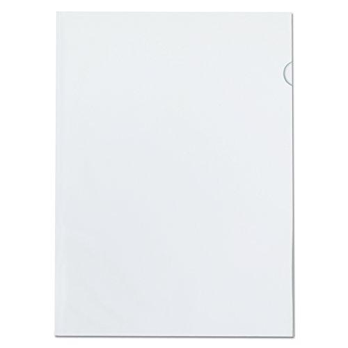 Pendaflex color Jacs transparente archivo chaquetas, tamaño carta, Poly, transparente, 50por caja (61504ee)