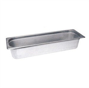 Winco 4'' Half Long Size Pan by Winco