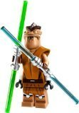 LEGO Star Wars Minifigure - Jedi Master Pong Krell with Dual Lightsabers (75004) by LEGO
