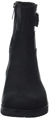Black Main 15 Timberland Hill Noir Motardes Bottes Saddleback Femme jet qRAR0dw