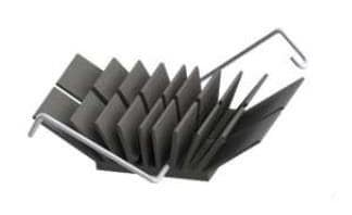 Wakefield-Vette WAVE-23-125 Heat Sinks LP H//S BGA Chipset 23X23X12.5,pack of 10