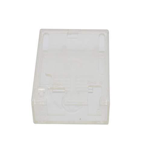 Yardwe Caja Protectora Completa de la Caja del Ordenador del recinto de la Piel de la Cubierta del ABS para el arduino un2...