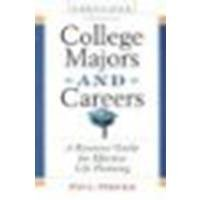 College Majors and Careers: A Resource Guide for Effective Life Planning by Phifer, Paul [Checkmark Books, 2003] (Paperback) 5th Edition [Paperback]