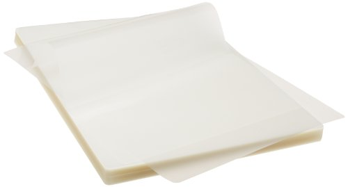 AmazonBasics Thermal Laminating Pouches - 8.9-Inch x 11.4-Inch,