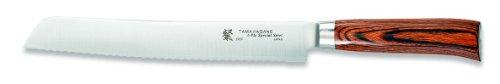 Tamahagane San SN-1118H - 10 inch, 240mm Bread Knife by Tamahagane