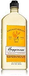Bath and Body Works Aromatherapy Happiness Bergamot and Mandarin Body Wash and Foam Bath 10 ounces ()