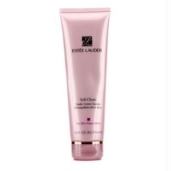 Estee Lauder Soft Clean Tender Creme Cleanser ( Dry Skin ) - #64 Cream Beige, 4.2 oz