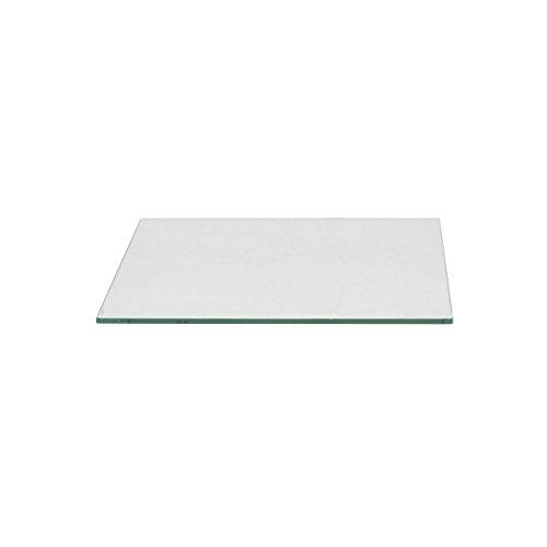 Milan SQ181812PEC Square Glass Table Top, 18'' x 18'' by Milan