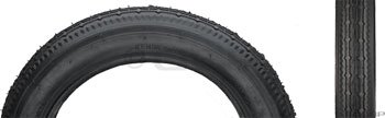 Kenda K124 Street BMX Tire 12.5x2.25 Black Steel by Kenda