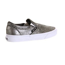 Vans Classic Slip-On - Mocasines unisex Plata - metallic silver